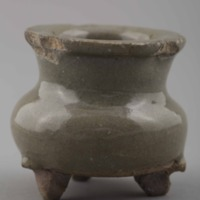 Ceramic: incense burner