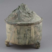 Ceramic: hill jar