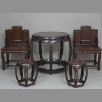 Furniture: table and chairs